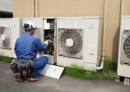 快適な環境を作り上げる空調設備。